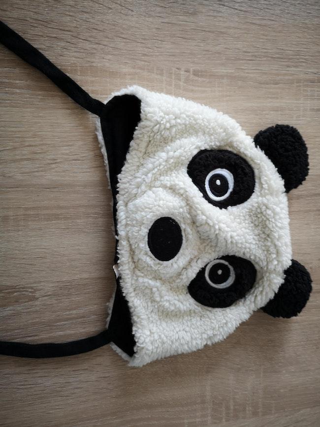 Bonnet panda taille unique