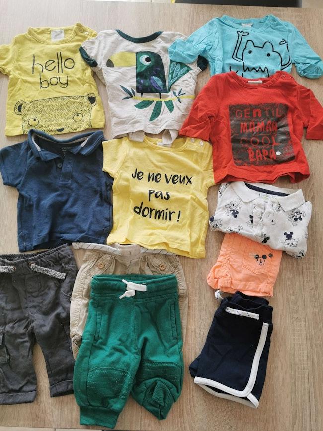 Lot vêtements 1 mois garçon