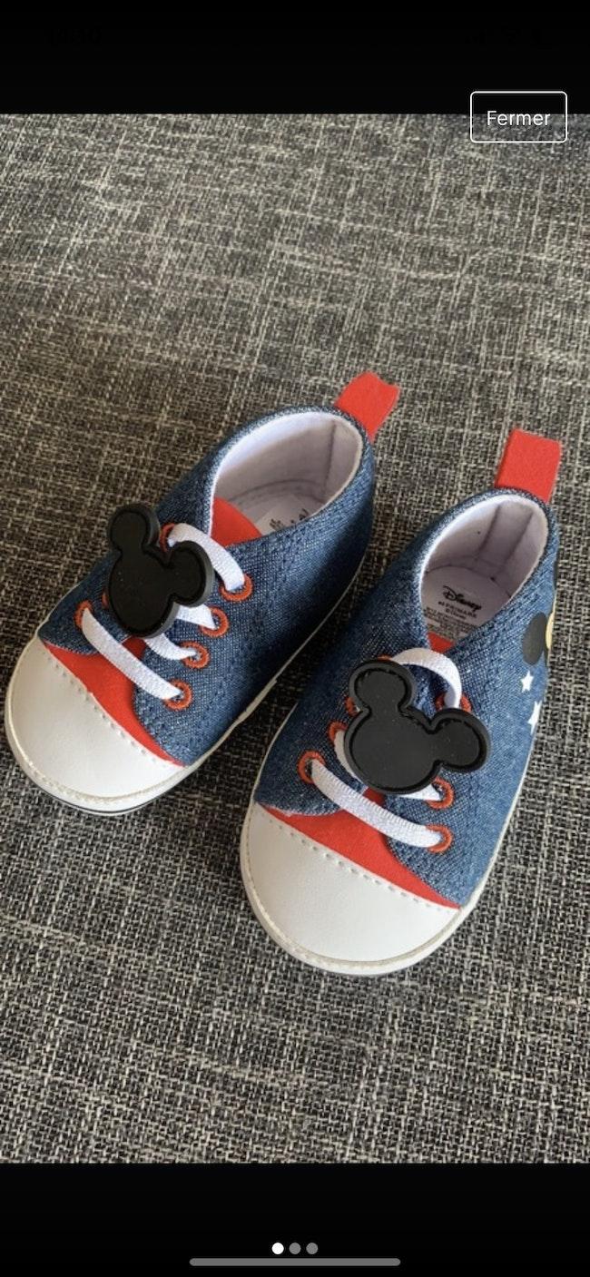 Chaussure Mickey bébé