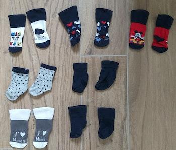 7 paires de chaussettes garcon disney naissance