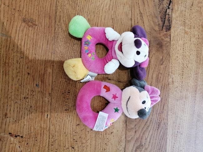 2 hochets Minnie