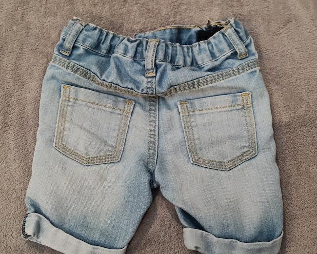 Short en Jeans claire lulu castagnette