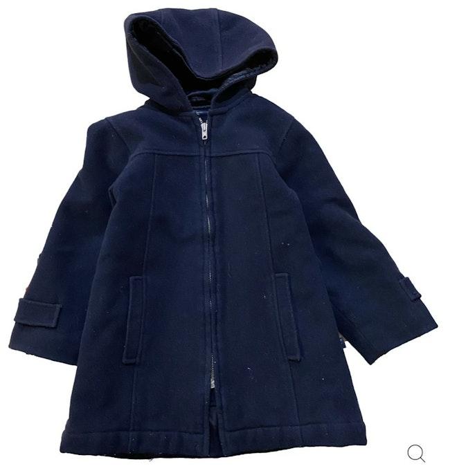Manteau bleu 4 ans