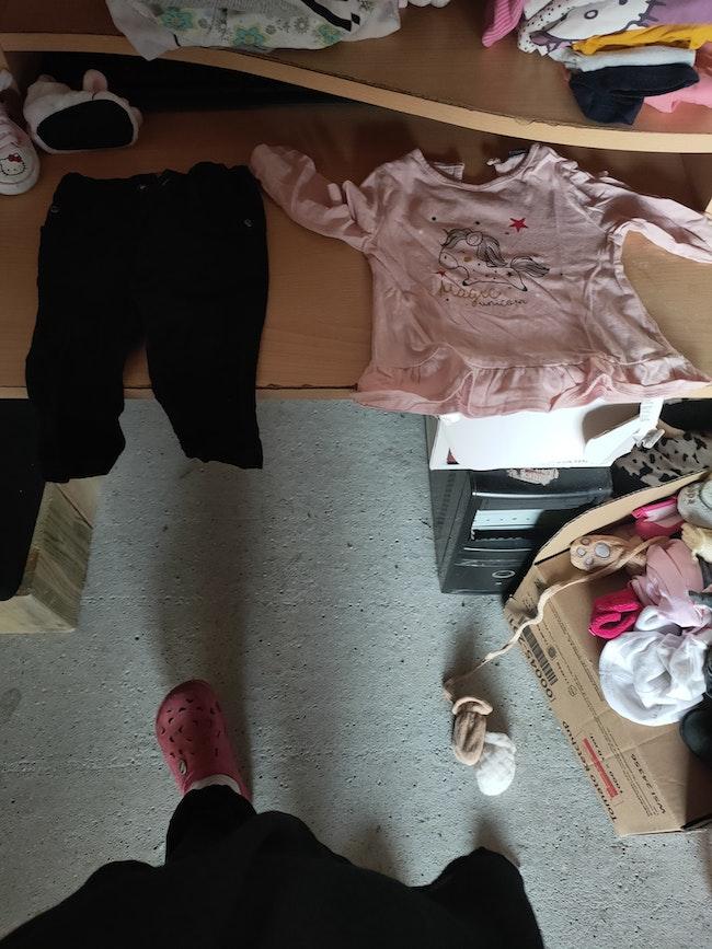 Lot fille vêtement 6 mois