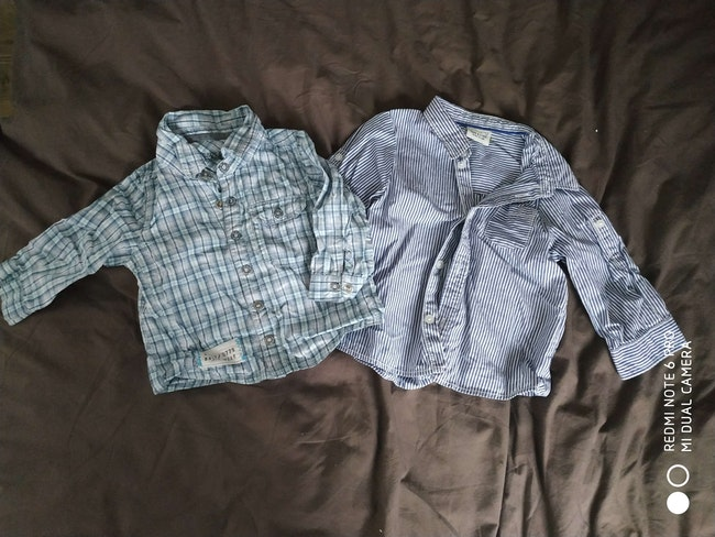 Chemises tape à l'oeil