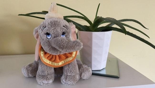 Peluche Dumbo l'éléphant