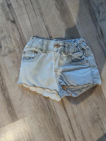 Short en jeans zara