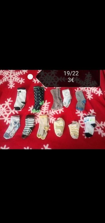 Taille 19/22 Lot de 11 paires chaussettes