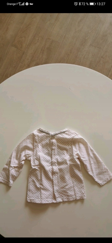 Tee-shirt manche longue Obaibi taille 9 mois.