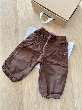 Jolie 🥰 pantalon marron large T12mois orchestra