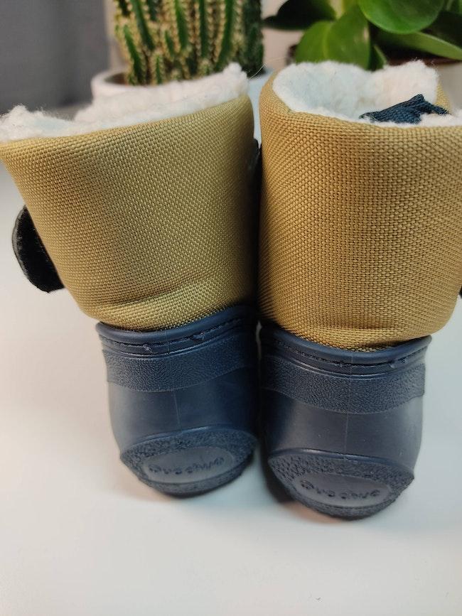 Paire de bottes fourrées bébé