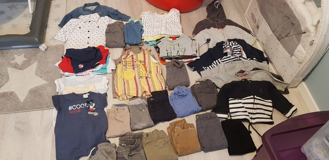 Lot vêtements garçon 6 mois