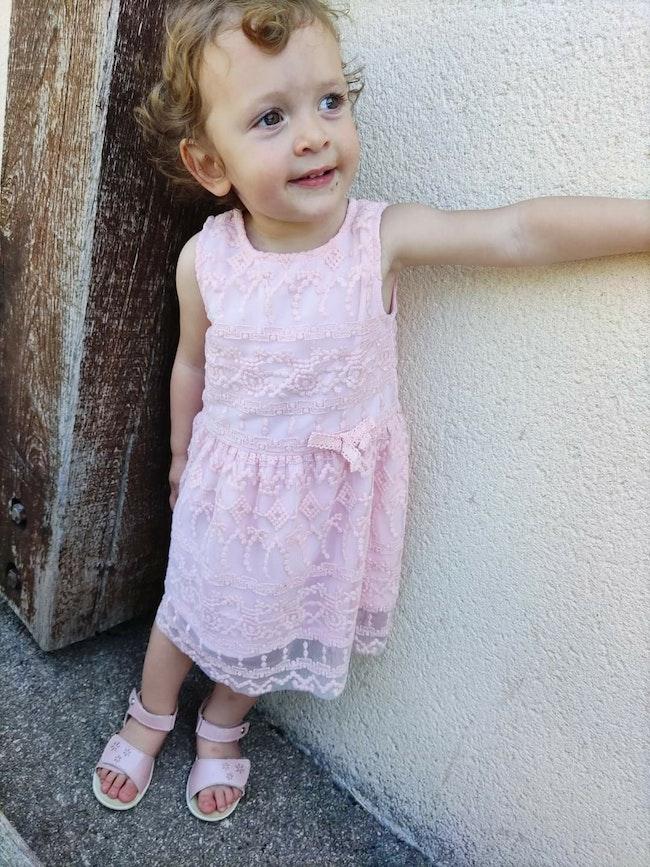 18 mois bébé fille robe ete