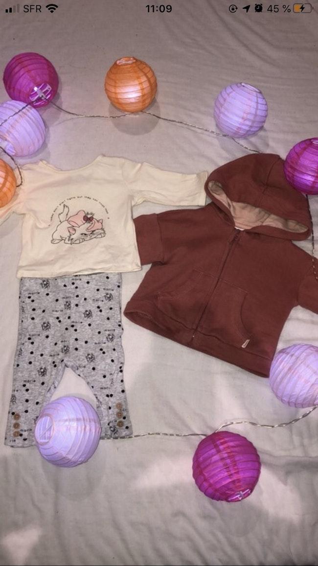 Lot de vêtement bébé fille