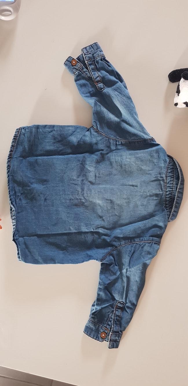 Chemise jeans obaibi 6m