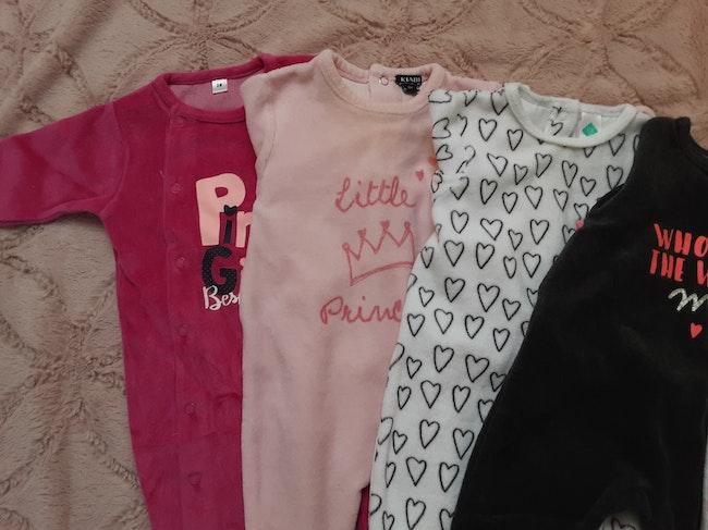 6 pyjamas velours