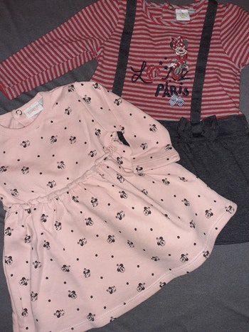 Lots 2 robes Minnie