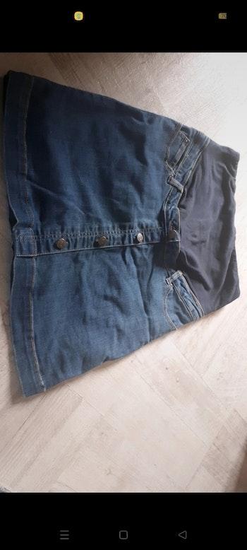 Jupe en jean maternité taille 38