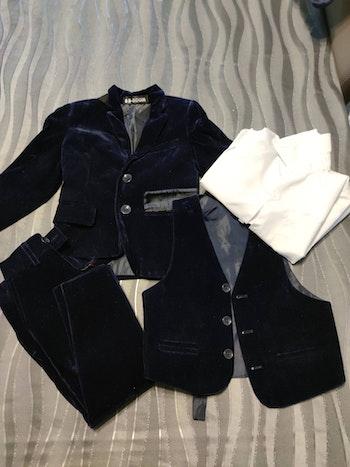 Costume 3 pièces + chemise 24 mois