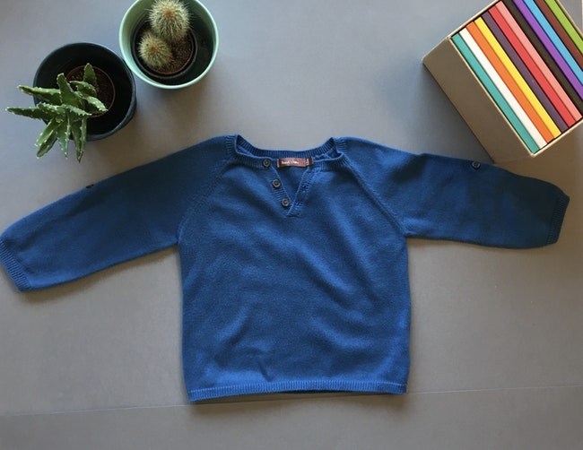 Pull bleu BoutChou