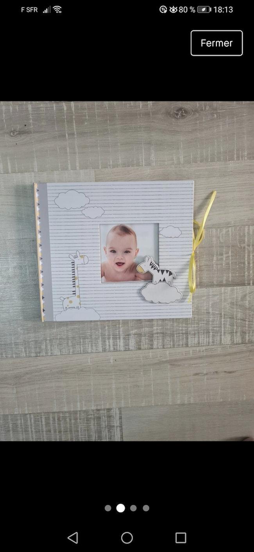 Livre de naissance Sophie la girafe mixte