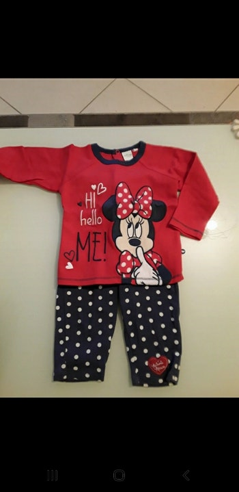 Pyjama disney 18 mois neuf