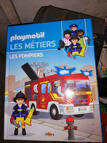 Histoire Playmobil les métiers Pompiers