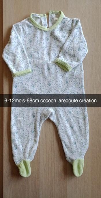 Pyjama grenouillère garçon