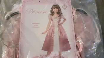 Deguisement princesse 6/8ans neuf