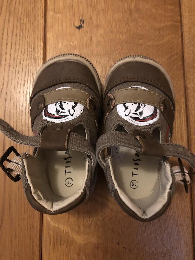 Chaussures sandales tissaia 19