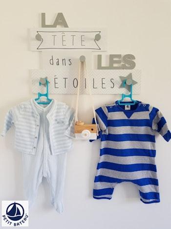 Lot de 2 pyjamas Petit Bateau