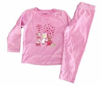 3 ans fille pyjama hiver Sergent major