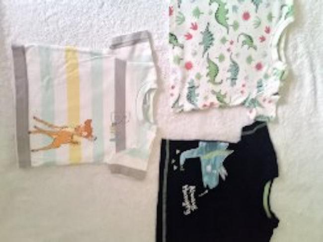 Lots de 3 t-shirts garçon 3 mois