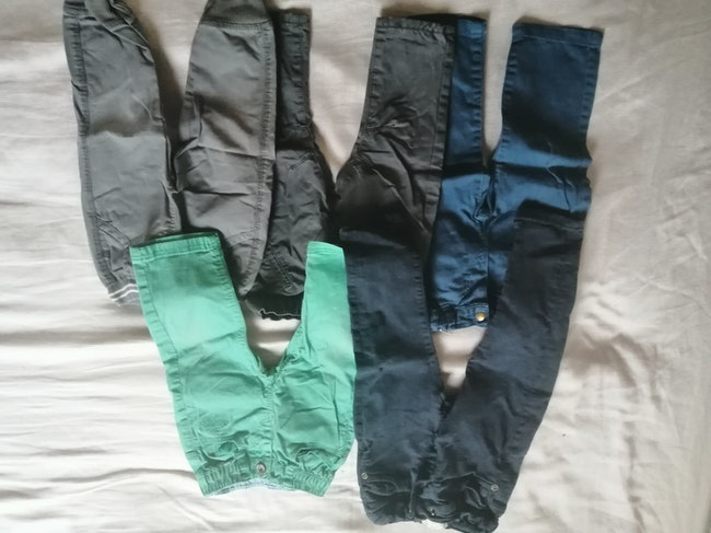 Lot 5 pantalons