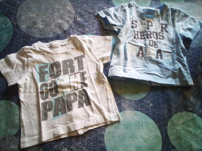 Lot 2 t-shirt 6 mois