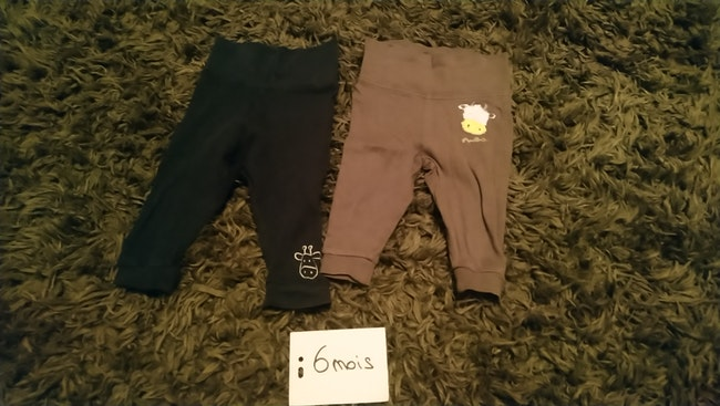 Lot 2 pantalons léger