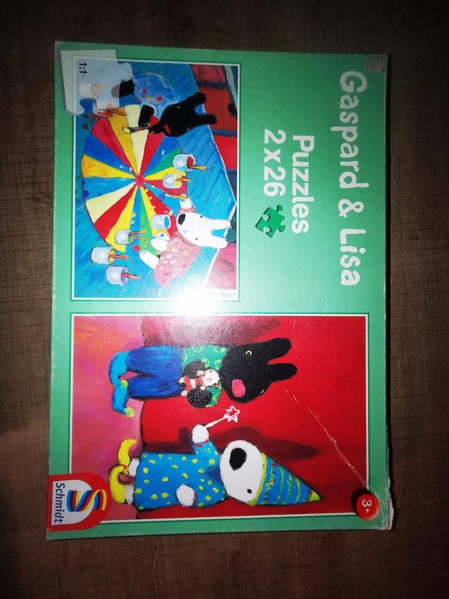 Lot de 2 puzzles
