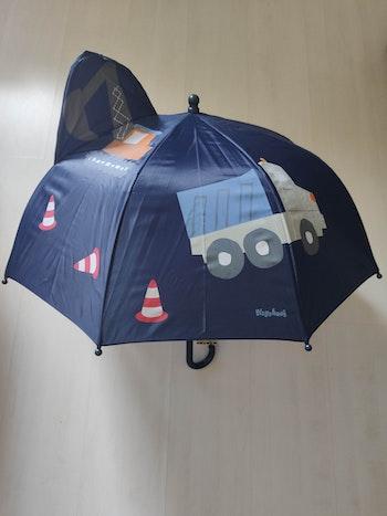 Parapluie enfant Playshoes - camions travaux