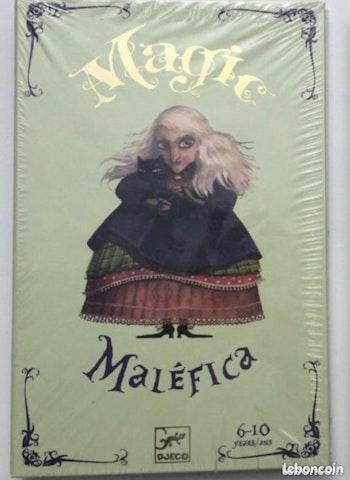 NEUF Djeco magic malefica kit tour de magie coffret magicien Eric Antoine 6-10 ans lot SOP77