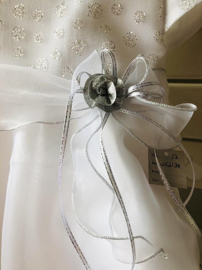 Robe de baptême blanche. 12 mois. Neuve