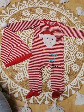 Pyjama père noël 12 mois
