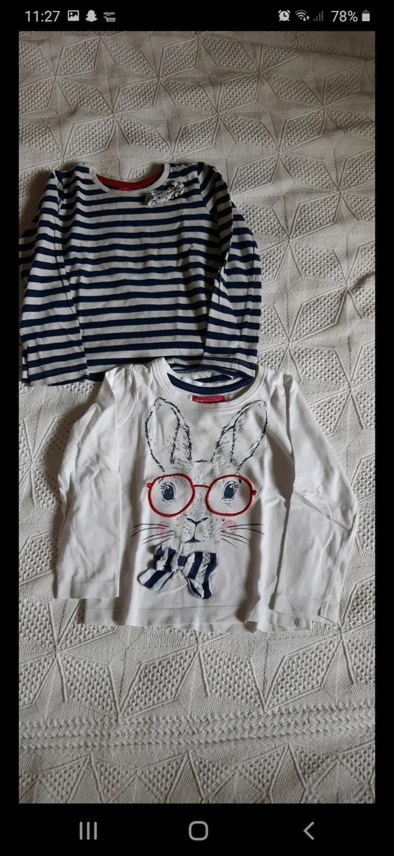 Lot 2 sous pulls/ tee-shirts manches longues