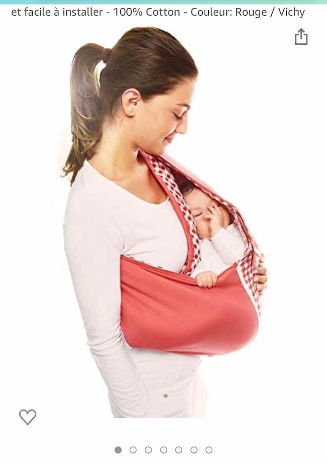 Écharpe de portage bébé neuf jamais utilisé