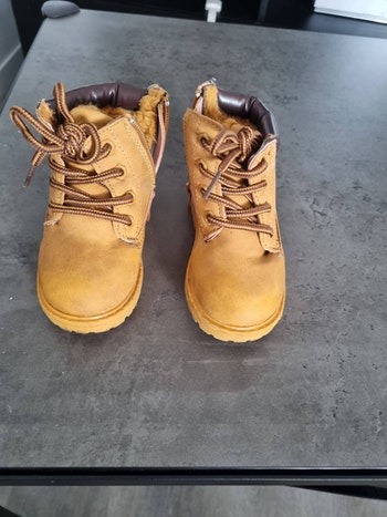Chaussures imitation timberland