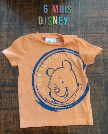 Tee-shirt Winnie l'ourson 6mois