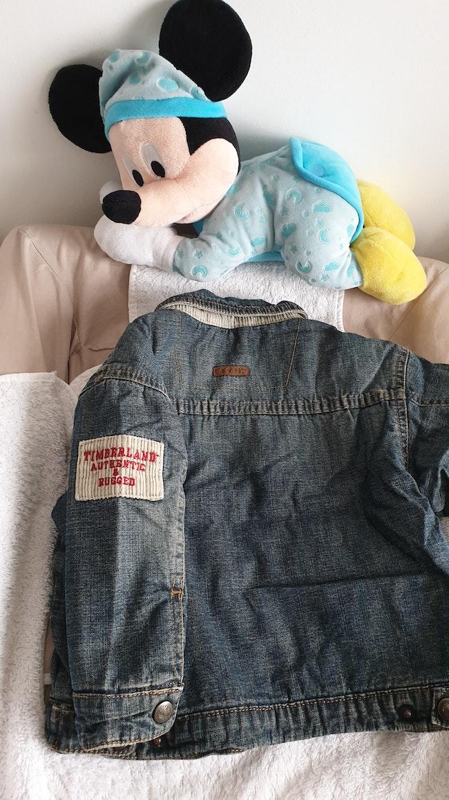 Veste en jean Timberland 12 mois