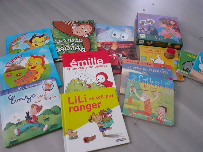 Lot livres