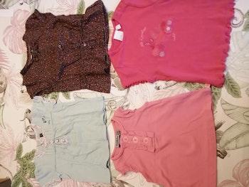 Lot de 4 t-shirt