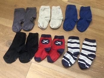 Lot de 6 paires de chaussettes bébé taille 17-18 mois.