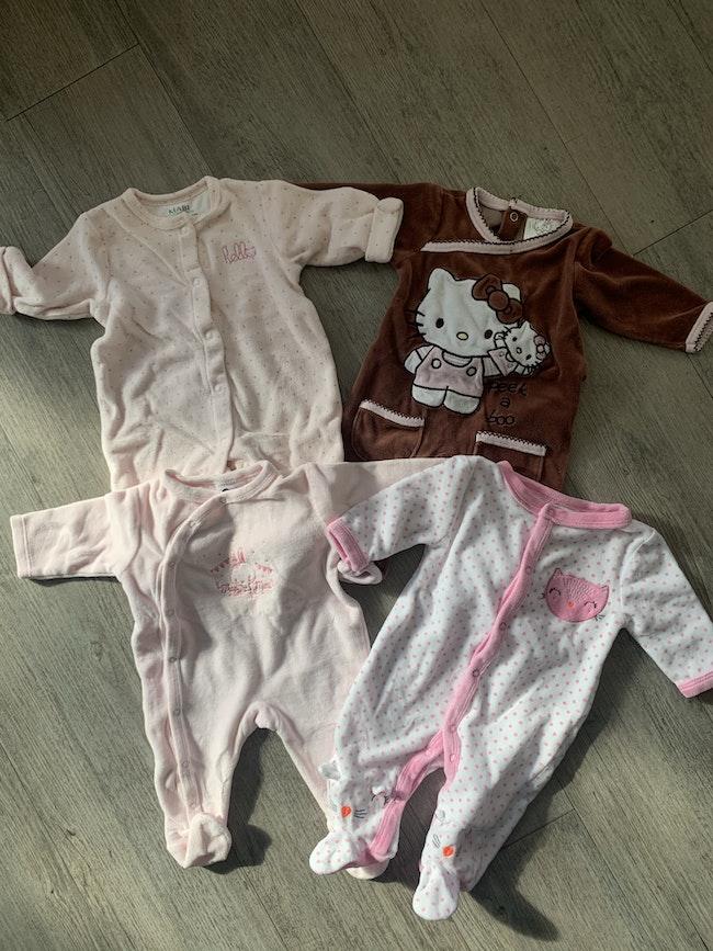 Lot pyjama fille
